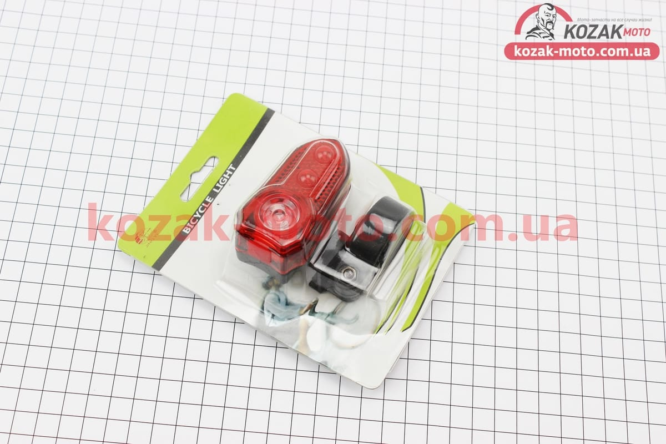 (Китай)  Фонарь задний 3 диода, JY-258 (без батареек)