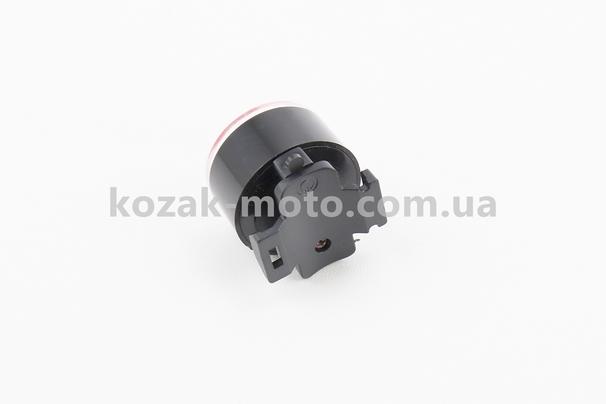 (Китай)  Фонарь задний 1 диод, черный FY-305 (без батареек)