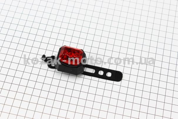 (Китай)  Фонарь задний 2 диода, AQ009 (без батареек)