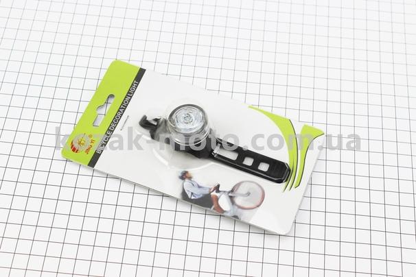 (Китай)  Фонарь передний 1 диод, JY-6003F (без батареек)