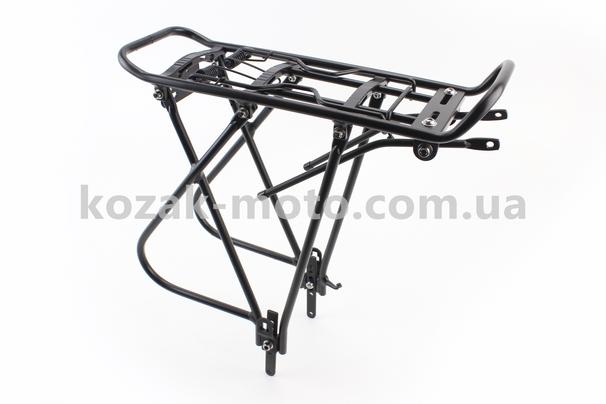 (Китай)  Багажник 26 - 28 алюміній, чорний 002
