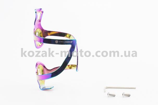 (Китай)  Флягодержатель алюминиевый, крепл. на раму, плазма BC107