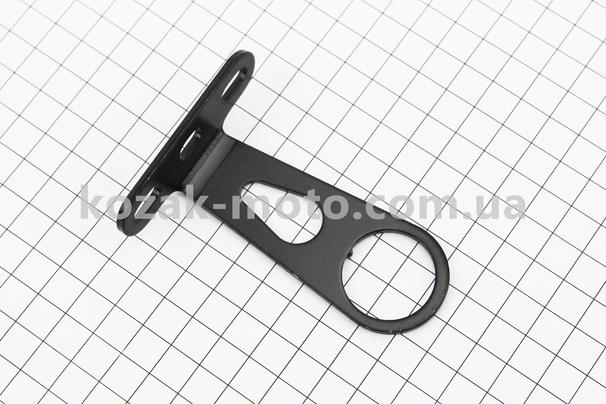 (Китай)  Кріплення передньої кошика за шток вилки, чорне