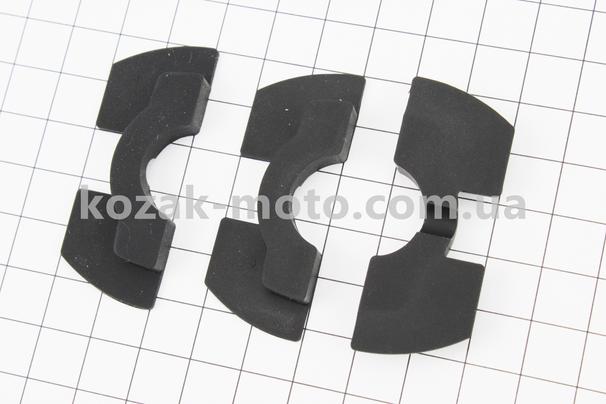 (Китай)  Набір демпферних ущільнювачів рульової 0,6 / 0,8 / 1,2 мм (Xiaomi Mijia M365)