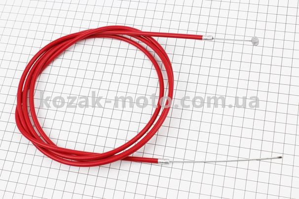 (Китай)  Трос заднего тормоза (трос 200см; кожух 182см), красный
