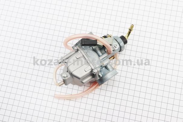 (Китай)  Карбюратор в сборе YBR125 (дросель ручной) тип. 2
