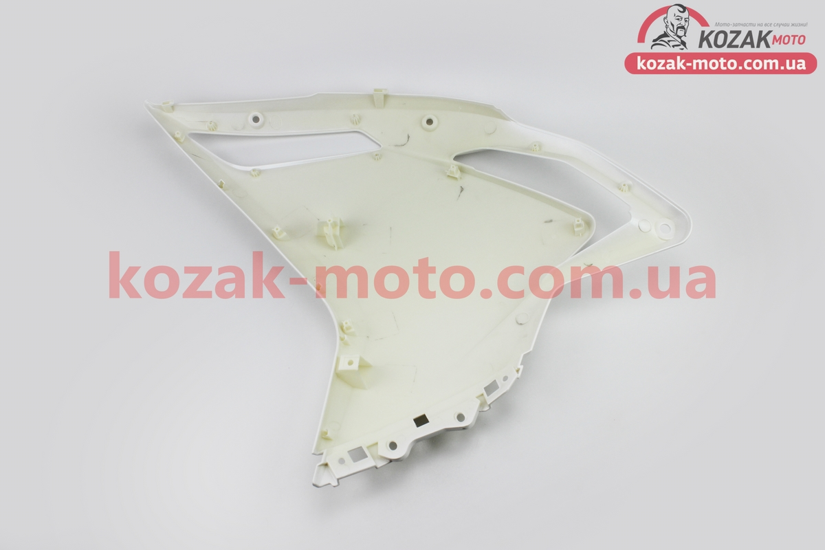 (Китай)  Loncin- LX300GS пластик - передний боковой правый, БЕЛЫЙ