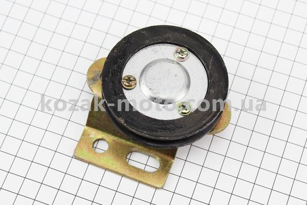 (Китай)  Ролик ремня натяжной + подшипник 6201-2Z (15x35x11) + крепления