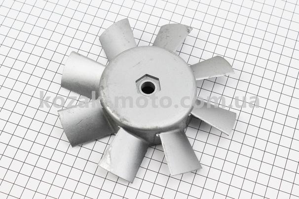 (Китай)  Крыльчатка вентилятора, алюминий D=160мм