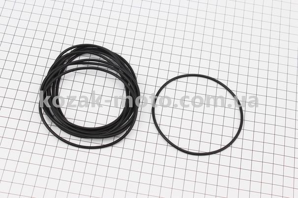 (Viper)  Кольцо (манжет) уплотнительное гильзы 80мм, чёрное R180NM, к-кт 10шт