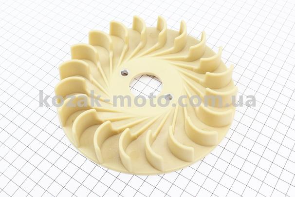 (Китай)  Крыльчатка охлаждения обмоток статора (вентилятор) ?165мм 1,9-3кВт