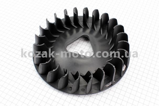 (Китай)  Крыльчатка охлаждения обмоток статора (вентилятор) ?215мм 5-6кВт