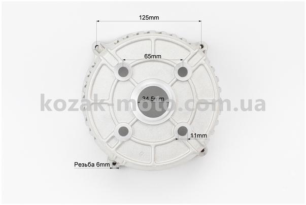 (Китай)  Крышка генератора передняя 1,9-2кВт
