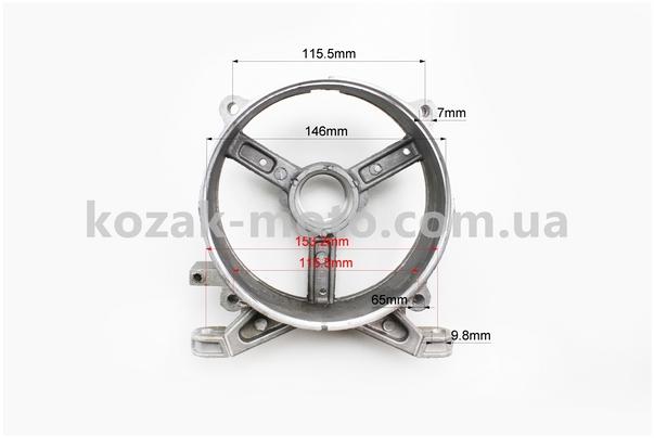 (Китай)  Крышка генератора задняя 2-3,5кВт Тип №3