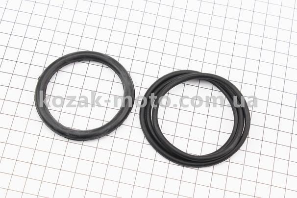 (Китай)  Кольца (манжеты) уплотнительные крышки корпуса к-кт 2шт, 2