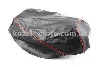 Чехол сидения Honda DIO AF27 (с красной каемкой)