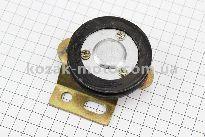 Ролик ремня натяжной + подшипник 6201-2Z (15x35x11) + крепления