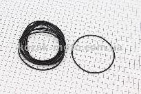 Кольцо (манжет) уплотнительное гильзы 80мм, чёрное R180NM, к-кт 10шт