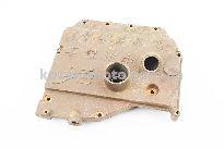 Крышка блока двигателя правая (со стороны заводного рычага), 9отв., чугунная R190N/195NM