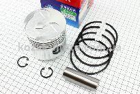 Поршень, кольца, палец к-кт 80мм STD (с выборкой под клапана)